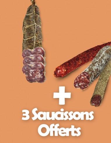 Saucisson de Jambon + 3 Saucissons...