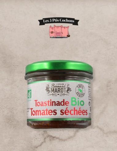 Toastinade BIO Tomates Séchées 90gr - Les 3 ptis cochons