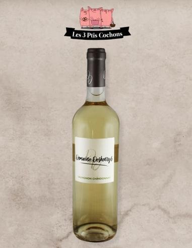 Sauvignon Chardonnay Domaine Deshenrys Les 3 Ptis Cochons Strasbourg