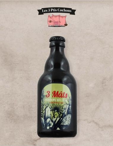 Bière 3 Mats Flocons des îles 33cl Les 3 Ptis Cochons Strasbourg