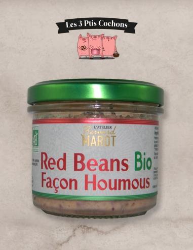 HOUMOUS Red Beans BIO - Les 3 pits cochons