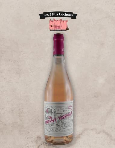 Côtes du Rhône 2019 Enfant Terrible Rosé Les 3 Ptis Cochons Strasbourg