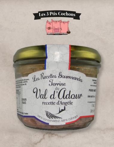 Terrine du Val d'Adour - 180gr les 3 ptis cochons strasbourg