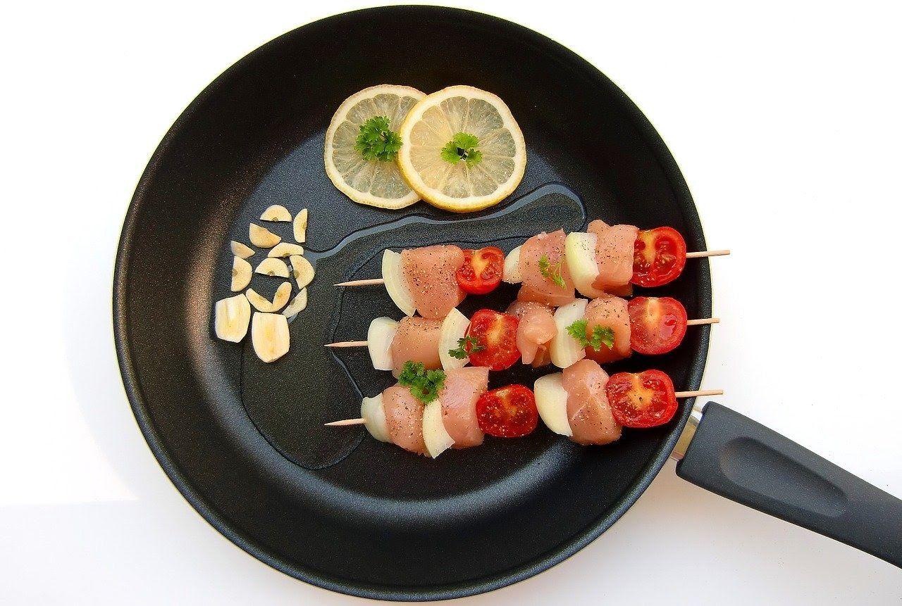 apéritif dînatoire brochettes de poulet